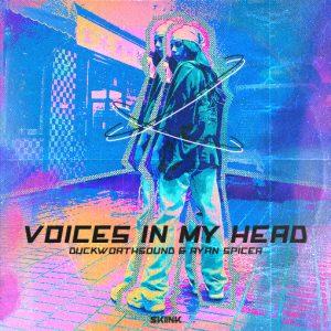 Duckworthsound & Ryan Spicer - Voices In My Head artwork
